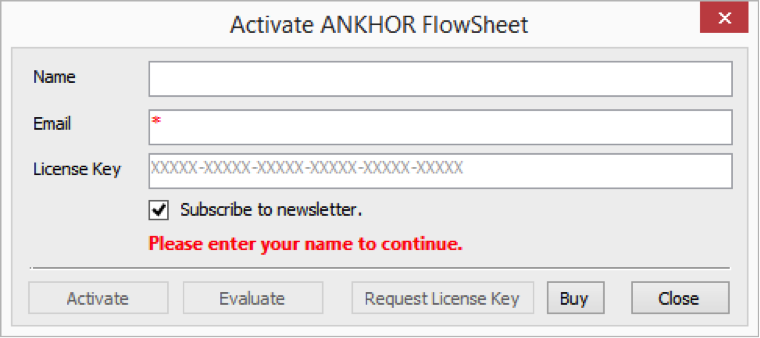 Windows 7 ANKHOR FlowSheet x64 2.1.0.13320 full